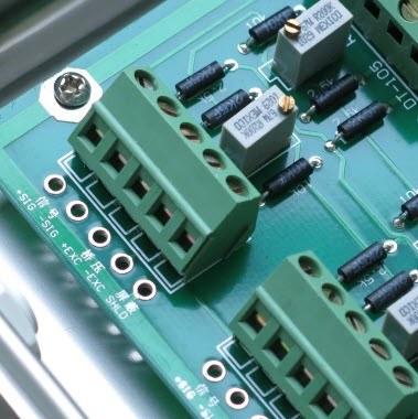 Sử dụng hộp nối chỉnh góc cho cân điện tử