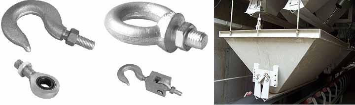 Mô hình mô đun lắp đặt cân bồn dạng treo (móc cẩu)
