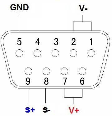 Mô tả chân kết nối Đầu cân với Loadcell loại 4 lõi
